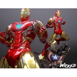 Iron Man and the shield -...