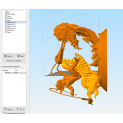 Ghost Rider Statue - STL Files for 3D Print