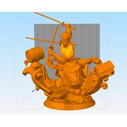 Roronoa Zoro - STL Files for 3D Print