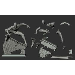 SpiderMan Miles Morales - STL Files for 3D Print