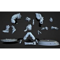 Goku vs Nappa - STL Files for 3D Print