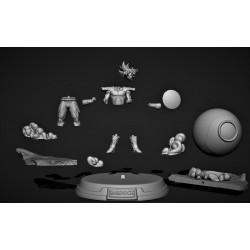 Bardock Capsule - STL Files for 3D Print