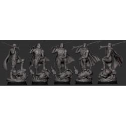 The Mandalorian Classic Armor Din Djarin - STL Files for 3D Print