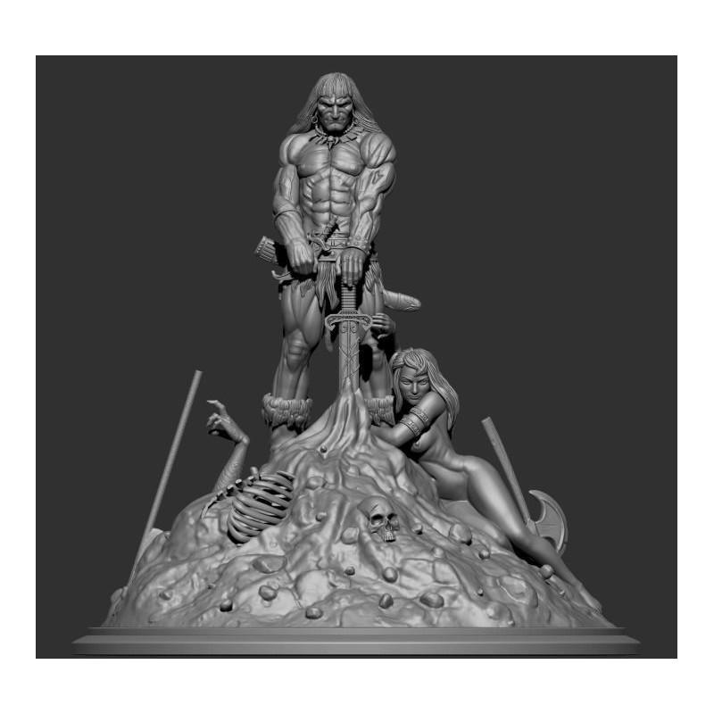 Conan the Barbarian - STL Files for 3D Print