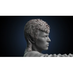 David Bowie - STL Files for 3D Print