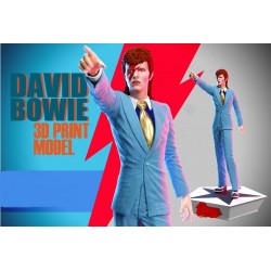 David Bowie - STL Files for...