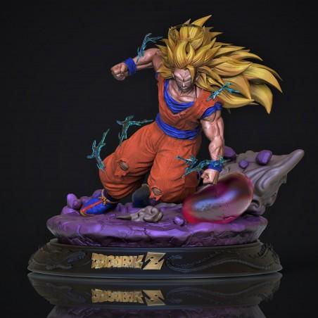 Goku SSJ3 - STL Files for 3D Print