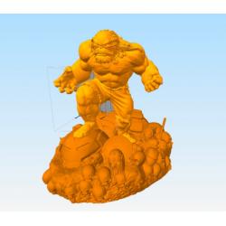 Hulk Master - STL Files for 3D Print