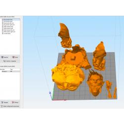 Shingeki No Kyojin Titan Eren - STL 3D print files