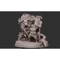 Kaido King of the Beasts Dragon - STL Files for 3D Print