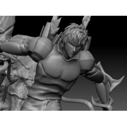 GENOS ONE PUNCH MAN - STL Files for 3D Print