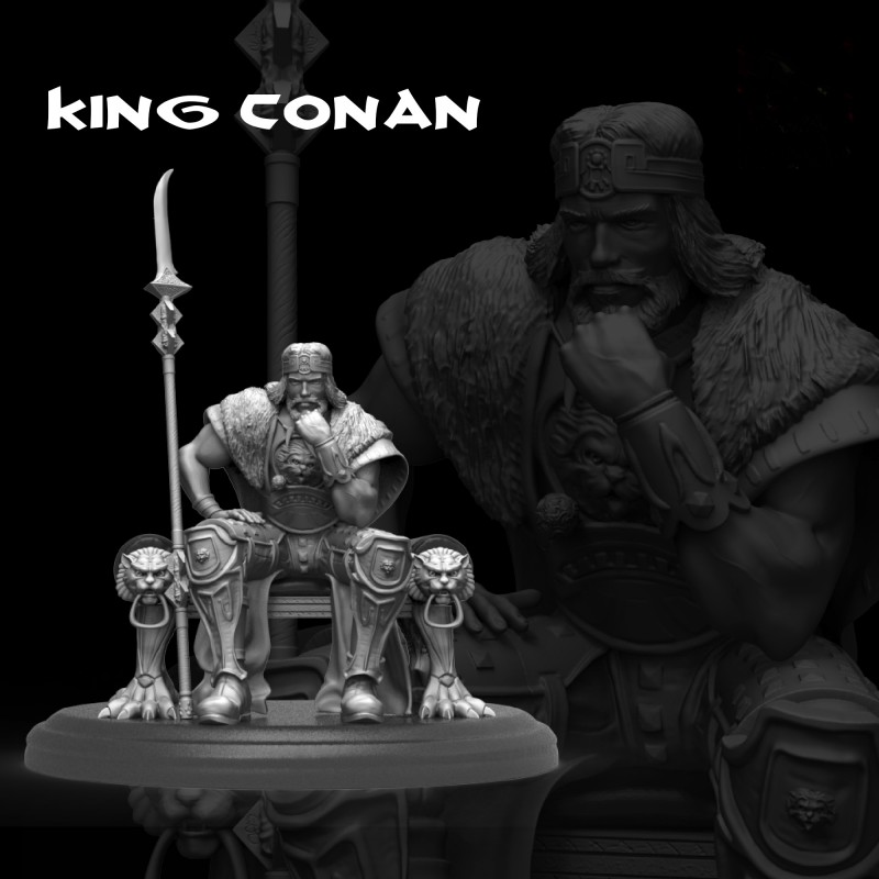 King Conan - STL 3D print files