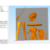 Wonder Woman Gal Gadot - STL Files for 3D Print