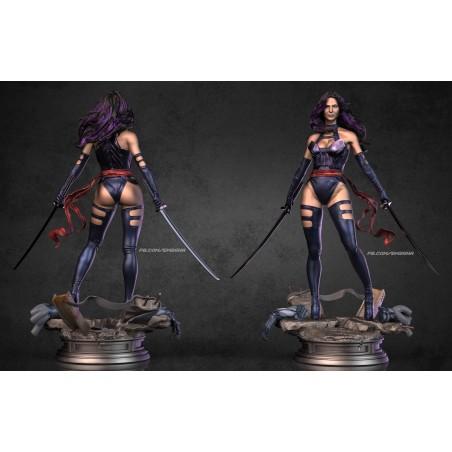 Psylocke - Olivia Munn - STL Files for 3D Print