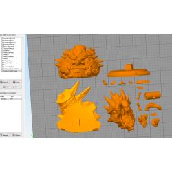 HASHIRAMA HOKAGE - STL 3D print files