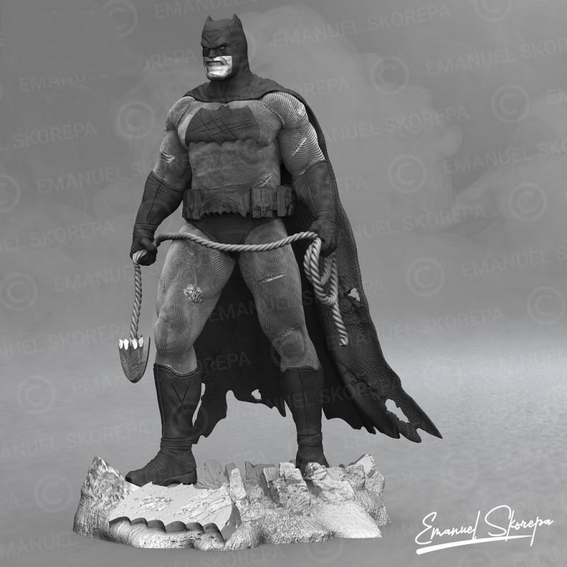BATMAN THE DARK KNIGHT RETURN - STL Files for 3D Print