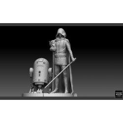 LUKE SKYWALKER STARWARS MANDALORIAN - STL Files for 3D Print