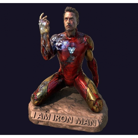 I am IronMan Statue - STL Files for 3D Print