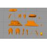 Ahsoka Tano by JohnKenn - STL 3D print files