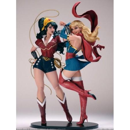 Wonderwoman and Supergirl Clasic - STL 3D print files