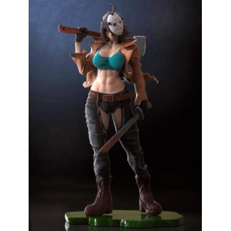 Jason Female Statue - STL Files for 3D Print