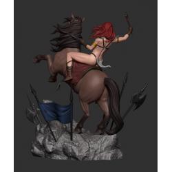 Red Sonja Horse - STL 3D print files