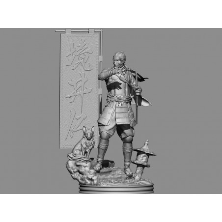 GHOST OF TSUSHIMA - STL Files for 3D Print