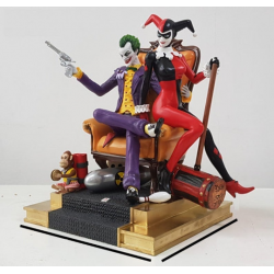Joker and Harley Quinn Diorama - STL Files for 3D Print
