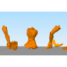 Exclamation Athena - STL Files for 3D Print