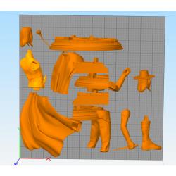 V for Vendetta - STL Files for 3D Print
