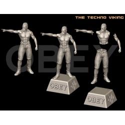 The Techno Viking - STL 3D print files