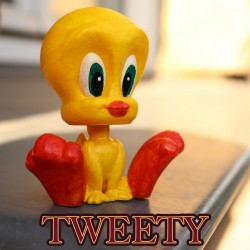 Complete collection of looney tunes - STL 3D print files