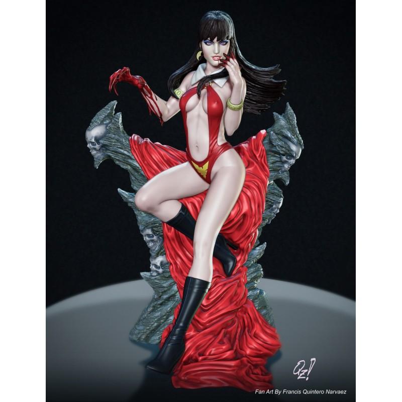 Vampirella + Extra - STL Files for 3D Print