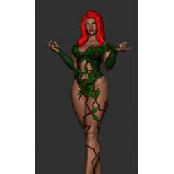Poison Ivy - STL 3D print files