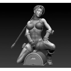 Cammy Vibro Street Fighter - STL Files for 3D Print