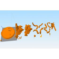 Voldemort Harry Potter - STL 3D print files