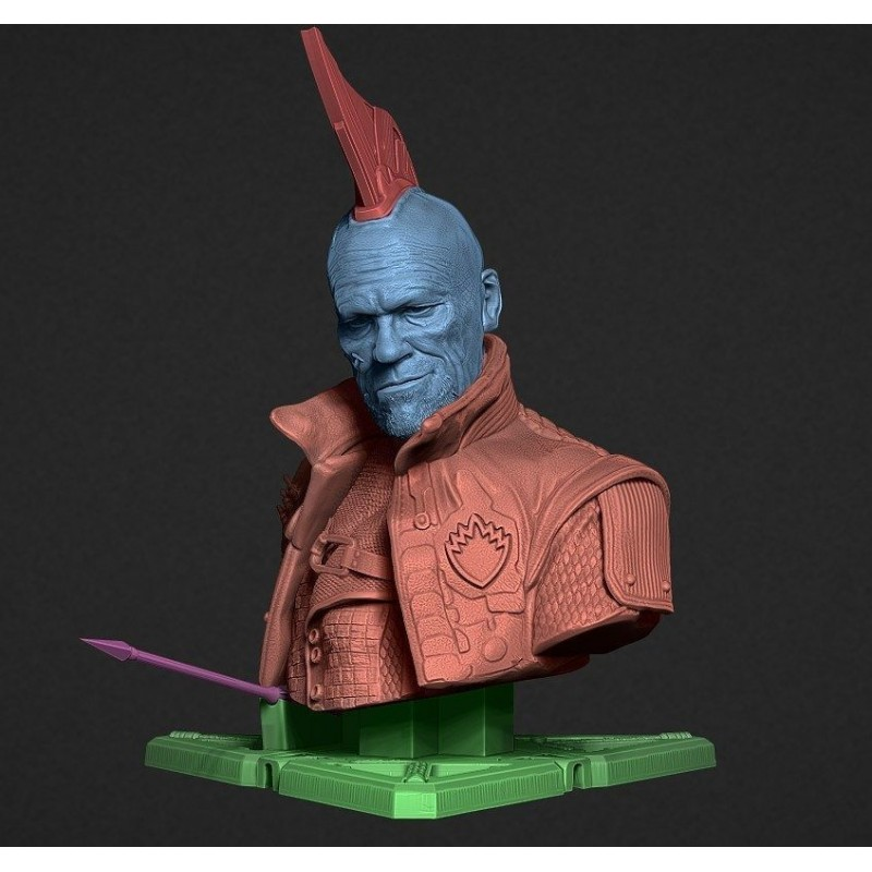 Yondu Udonta Bust   - STL Files for 3D Print
