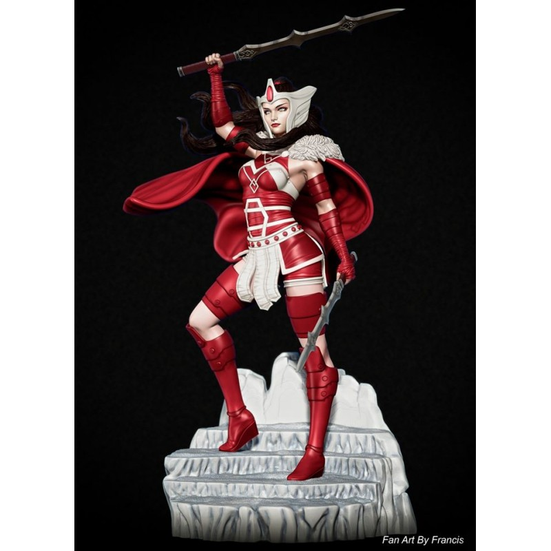 Lady Sif Thor - STL Files for 3D Print