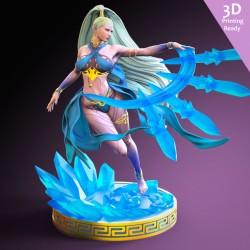 Shiva Final Fantasy - STL 3D print files