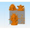 King Kong Bust - STL Files for 3D Print