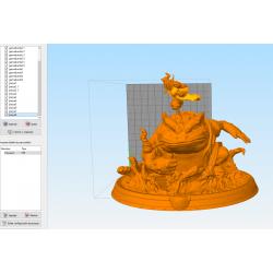 Jiraiya Gamabunta - STL Files for 3D Print