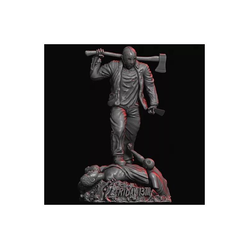 Jason friday 13th - STL Files for 3D Print