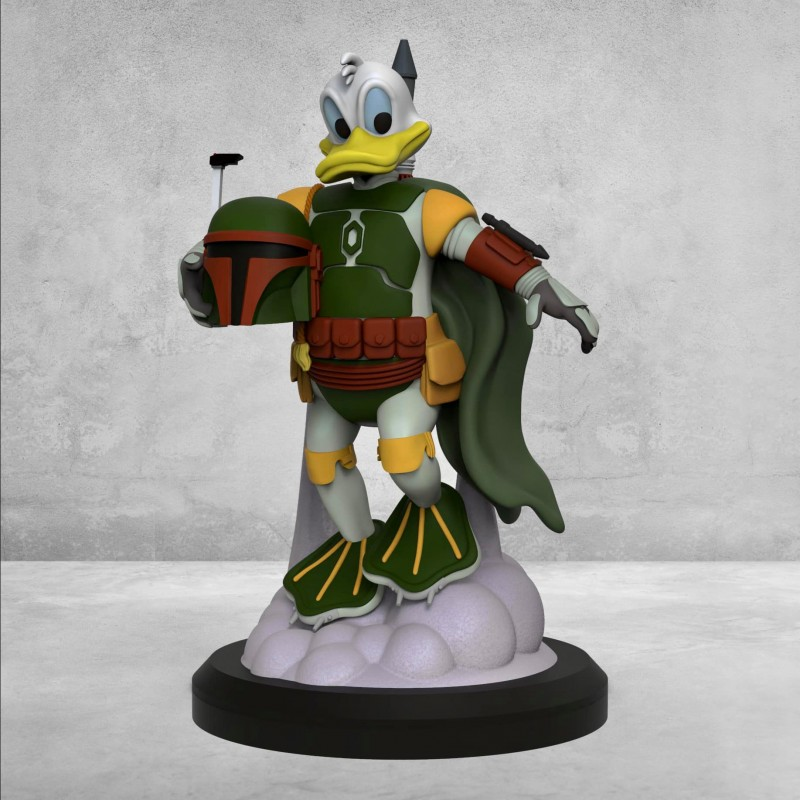 Boba Duck - STL Files for 3D Print