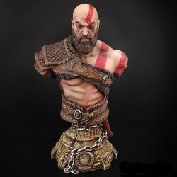 Kratos Bust - STL 3D print...