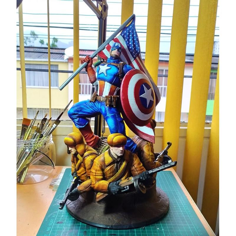 Captain America  Avengers - STL 3D print files