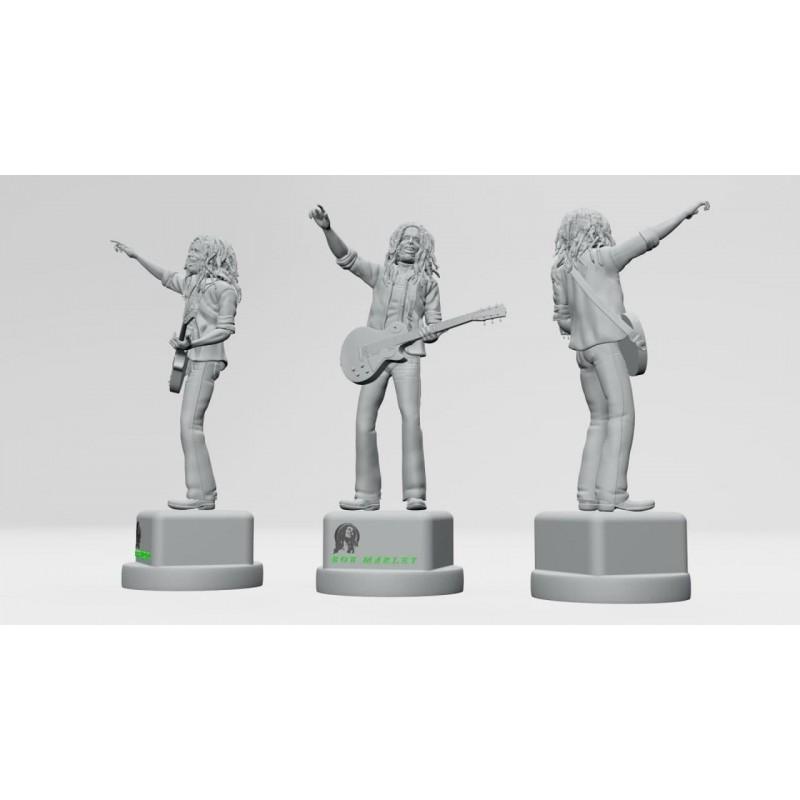 Bob Marley - STL 3D print files