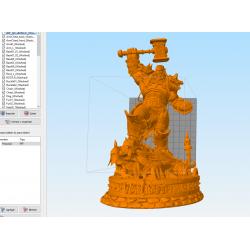 Thrall Warcraft - STL 3D print files