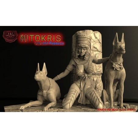 Nitokris the last pharaon - STL 3D print files