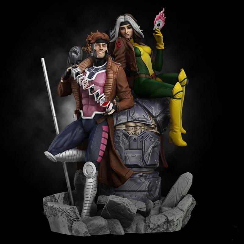Gambit And Rogue - STL 3D print files