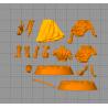 RORONOA ZORO ONE PIECE - STL 3D print files